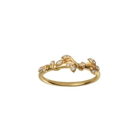 byBiehl - Jungle Ivy sparkle ring - 5-3102a-GP