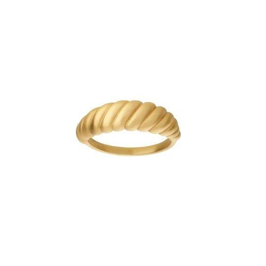 byBiehl - Seashell ring - 5-3601-GP