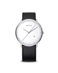 Bering - Classic - børstet sølv - 11139-404