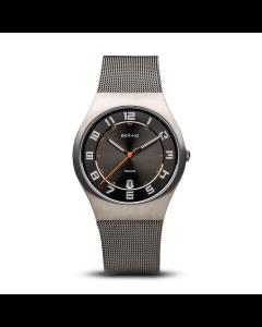 Bering - Classic - børstet grå - 11937-007