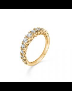 "Mads Z - 14 kt. ring ""Crown Princess"" m. 0,75 ct. W.SI - 1541975"