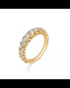 "Mads Z - 14 kt. ring ""Crown Princess"" m. 1,00 ct. W.SI - 1541999"