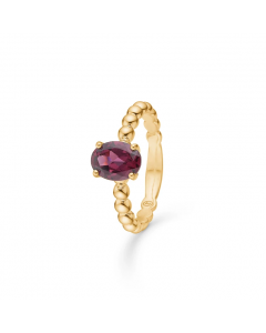 "Mads Z - 14 kt. ring ""Berry"" m. granat - 1546092"