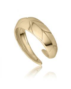 Bykjaergaard - Arrow ring 18 karat guldbelagt sølv -  arrrg1229