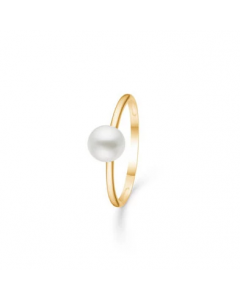 "Mads Z - 8 kt. ring ""Moonlight"" m. perle - 3343116"