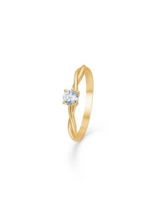 "Mads Z - 8 kt. ring ""Willow"" m. zirk - 3347141"