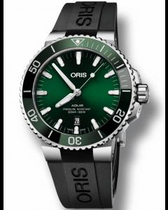 ORIS - Aquis Date Green - 73377304157RS