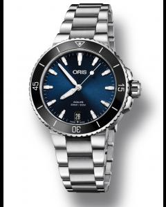 ORIS - Aquis Lady Date - 73377314135MB