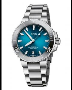 ORIS - Aquis Date Lady Gradient Blue - 73377324155MB