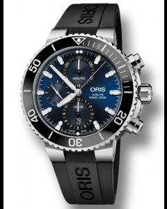 ORIS - Aquis Chrono Deep Blue - 77477434155RS
