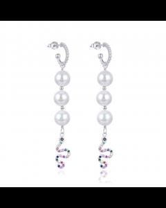 Wioga - Ariel pearl øreringe - E-1034-S