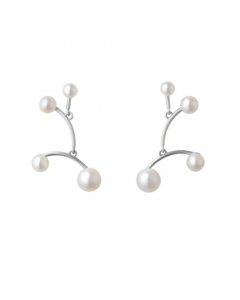 byBiehl - Balance øreringe small - 6-301wp-R