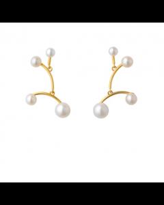 byBiehl - Balance øreringe small - 6-301wp-GP