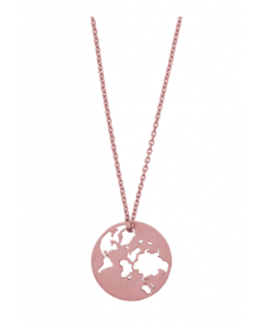 byBiehl - BEAUTIFUL WORLD HALSKÆDE - ROSA - 3-1601-RG