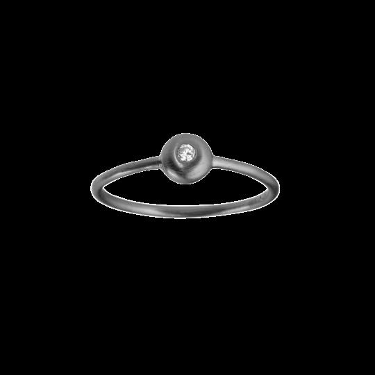 byBiehl - IRIS DIAMANT RING - SORT - 5-1101A-B